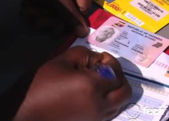 Ugandan citizens register for sim cards using NIN (National ID Number)