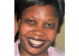 Linda Nabusayi - the newly appointed Presidential Senior Press Secretary. (PHOTO/Internet)