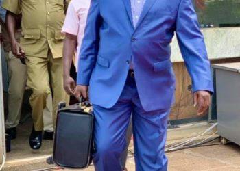 Deputy Speaker Jacob Oulanyah has handed over office (PHOTO /Courtesy)
