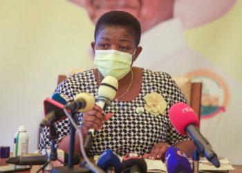 Minister for General Duties, Justine Kasule Lumumba (PHOTO/File).