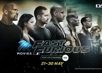 The M-Net movies Fast & Furious pop-up channel drifts back to DStv by popular demand ahead of the latest film release (PHOTO/Courtesy)