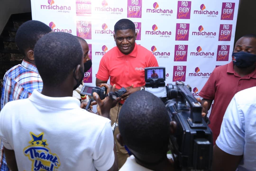 Movit's Stephen Mukisa addressing journalists during the event held Friday at Sheraton Hotel Kampala (PHOTO /Courtesy).
