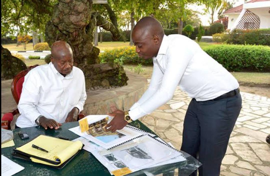 President Museveni and businessman Hamis Kiggundu respectively (PHOTO/File).