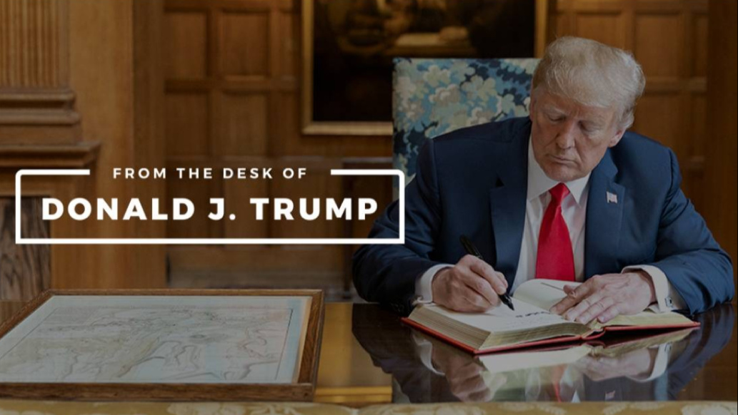 Former U.S. President Donald Trump launched own online platform (PHOTO/Courtesy).