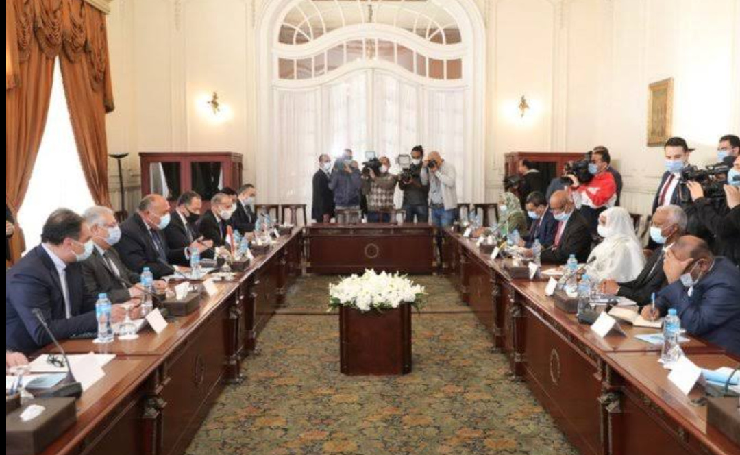 Egyptian, Turkish diplomats in a meeting (PHOTO/Courtesy).