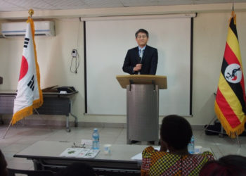 South Korean Ambassador to Uganda Ha Byung-Kyoo (PHOTO/File).