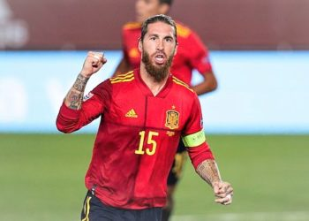 Ramos is Spain's most capped player of all-time with 180 appearances for the national team. (PHOTO/Internet)