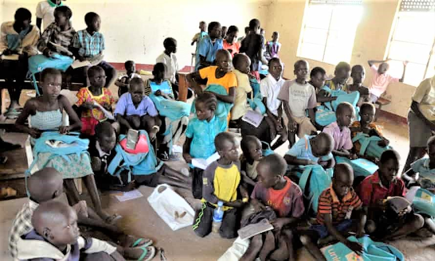 A typical class in South Sudan. (PHOTO/Courtesy)