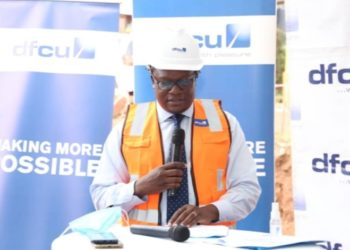 dfcu Bank's Chief Executive Officer Mathias Katamba (PHOTO /Courtesy)