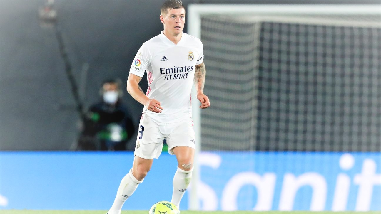 Toni Kroos set to miss Real Madrid's must-win season finale against Villarreal. (PHOTO/Internet)