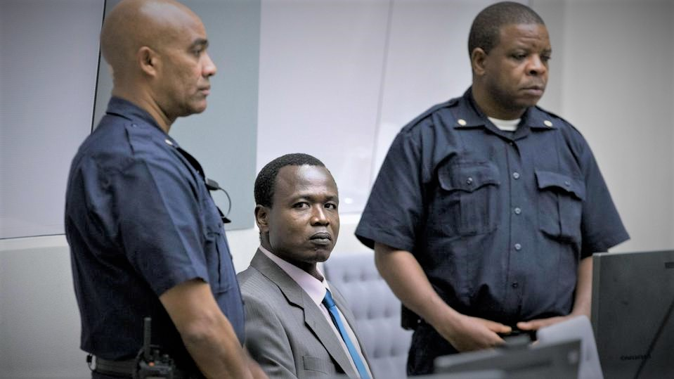 Dominic Ongwen was present in court as the presiding judge read out the verdict. (PHOTO/Courtesy)