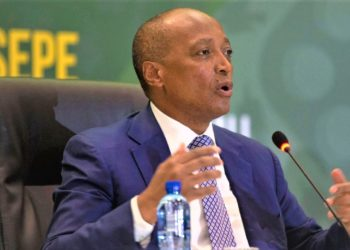Caf president - Patrice Motsepe is determined to establish a continental 'Super League.' (PHOTO/Internet)