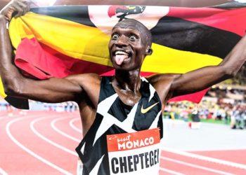 Cheptegei set to run today. (PHOTO/Internet)
