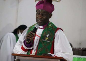 The Anglican Archbishop Samuel Kaziimba Mugalu