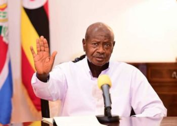 Museveni said in a televised address on Sunday night that a second wave gripping the country was diffuse and sustained (PHOTO /Courtesy)