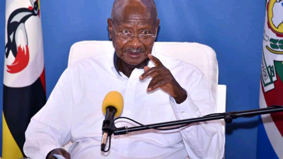 President Museveni addressing the nation on coronavirus in Friday (PHOTO/Courtesy).