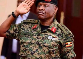 General Wilson Mbasu Mbadi is the new Chief of Defense Forces (PHOTO/Courtesy).