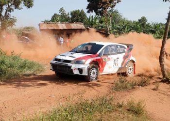 Rajiv Ruparelia put an impressive performance to finish third at UMC Kassanda Rally 2021 (PHOTO /Courtesy)