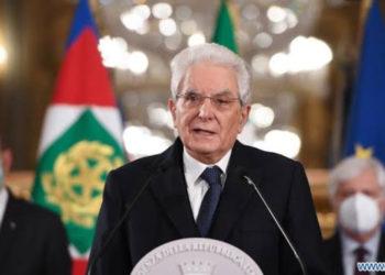 Italian President, Sergio Mattarella OMRI OMCA (PHOTO/Courtesy).