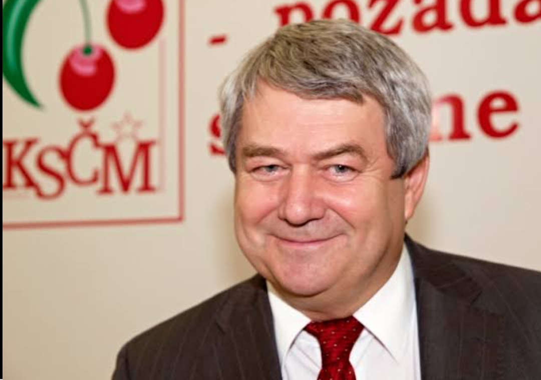 Vojtech Filip, chairman of the Communist Party of Bohemia and Moravia (PHOTO/Courtesy).