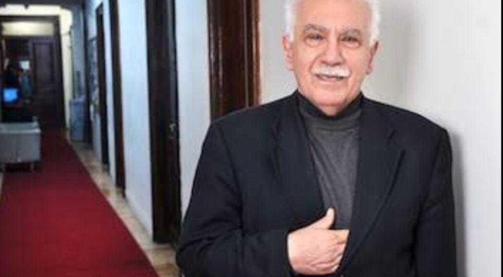 Dogu Perincek, chairman of Turkey's Patriotic Party (PHOTO/Courtesy).