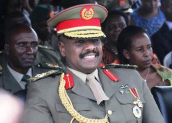 Museveni's son Lt. Gen. Muhoozi Kainerugaba is the new Commander Land Forces (PHOTO/Courtesy).