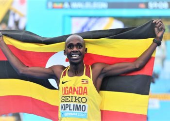 Jacob Kiplimo won the 5000m race in Switzerland to qualify for Olympics. (PHOTO/Internet)