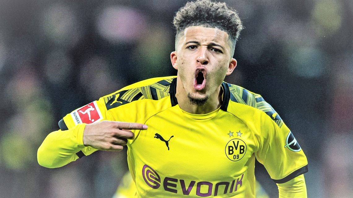 Manchester United has launched a new move to recruit Jordan Sancho. (PHOTO/Internet)