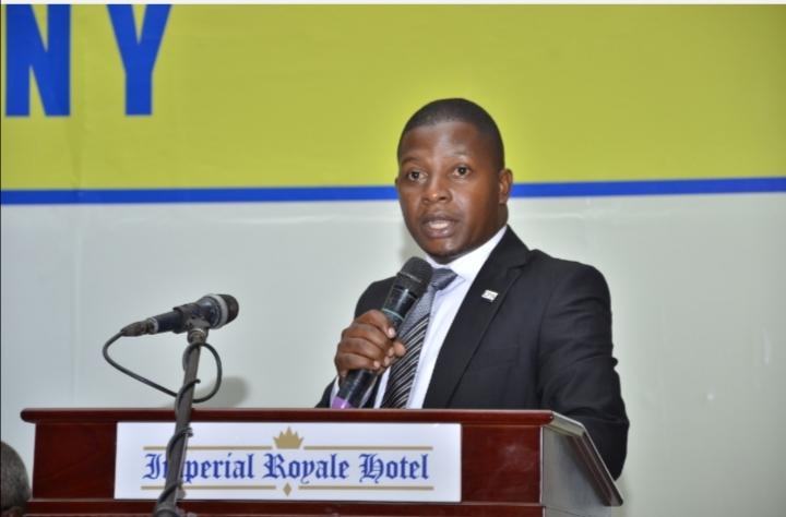 CPA David Kiwanuka is the ICPAU Young Accountant of the Year 2019/2021 (PHOTO /Courtesy)