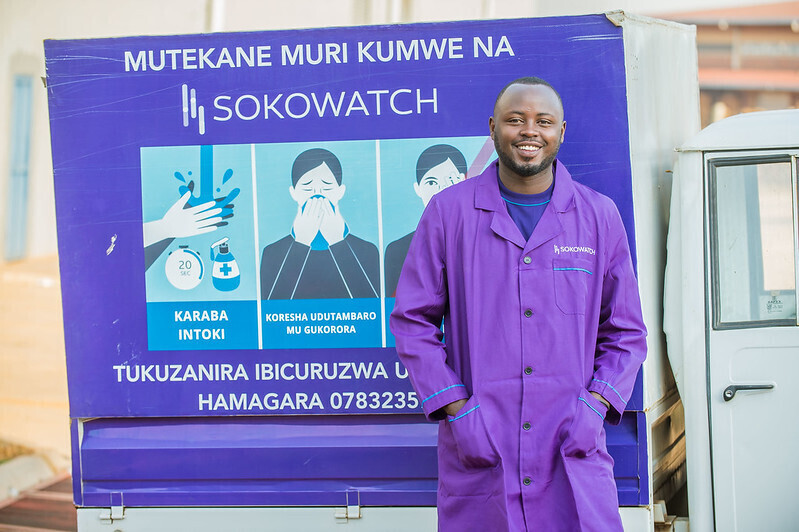 Sokowatch was selected as WEF Technology Pioneer (PHOTO/Courtesy).