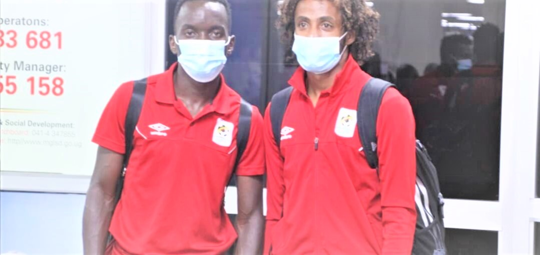 Some of the players who travelled with The Cranes. (PHOTO/Courtesy)
