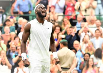 Unseeded American Frances Tiafoe secured the biggest win of his career on Monday. (PHOTO/Internet)