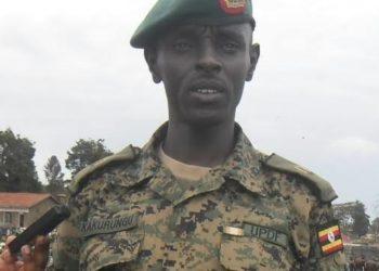 Lt. Col Ronald Kakurungu appointed new Deputy army spokesperson (PHOTO /Courtesy)