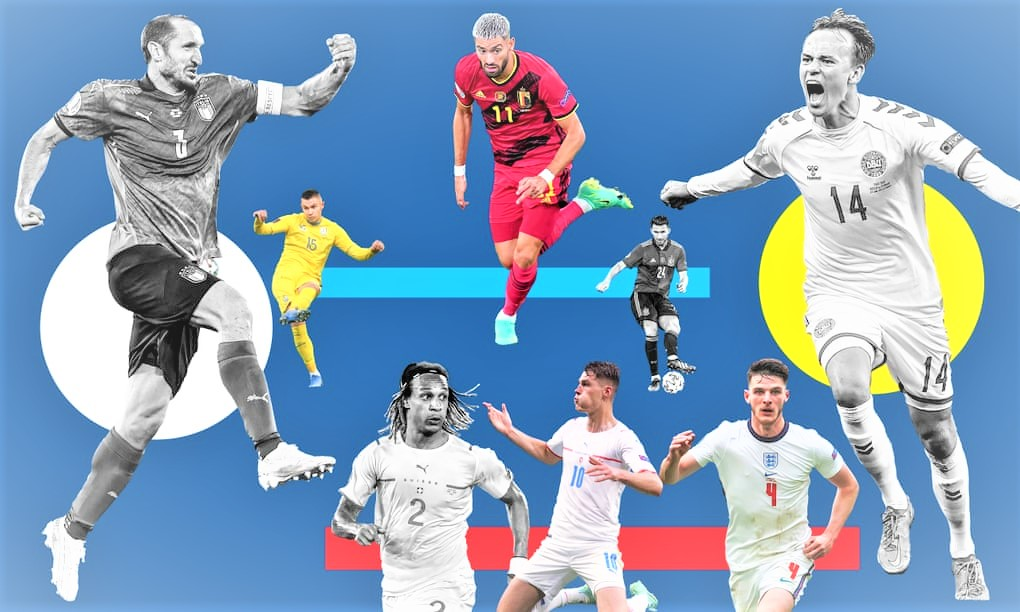 The Euro2020 is taken a last bend - with quarters kicking off today. (PHOTO/Internet)