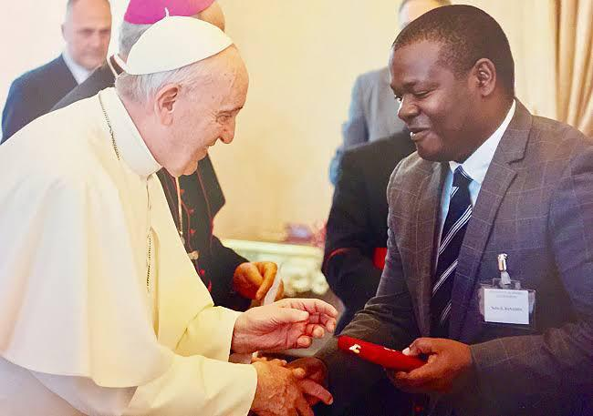 Professor Banadda, the first African recipient of the Pontifical Academy of Sciences Pius XI Award succumbed to Coronavirus on Thursday (PHOTO /Courtesy)