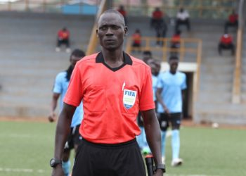 Dick Okello will be one of the four referees at the CAF Champions League final. (PHOTO/Courtesy)