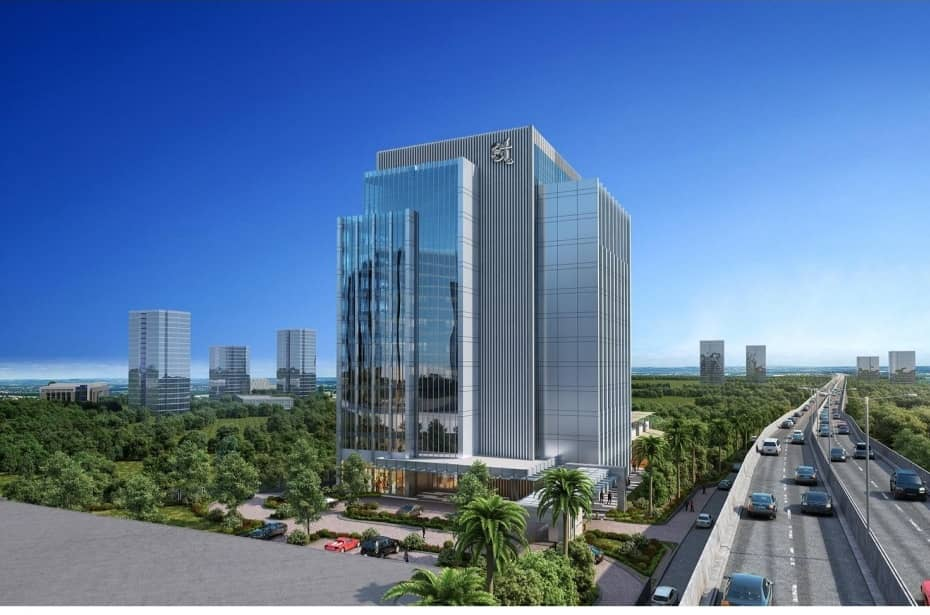 The artistic impression of the Pearl Business Park, Ruparelia Group's upcoming project that will massively change the Kampala skyline (PHOTO/Courtesy).