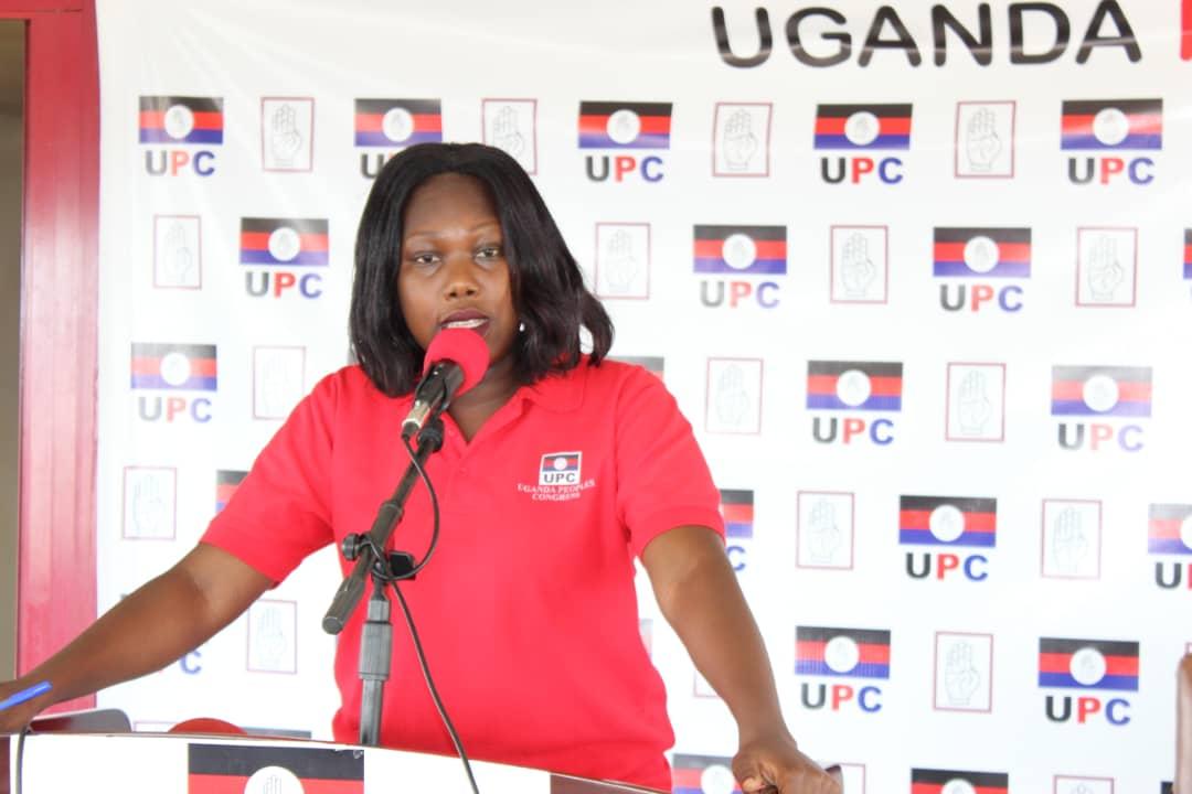 Sharon Arach Oyat, Uganda People's Congress Spokesperson (PHOTO /Courtesy)