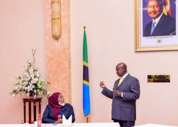 On April 11, President Museveni  and his Tanzania counterpart Samia Suluhu signed a deal for the $3.5 billion East African Crude Oil Pipeline (PHOTO/Courtesy).