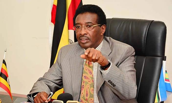 Security Minister Gen. Jim Muhwezi has overseen the deal to sign off the contract with the checkered contractor (PHOTO/File).