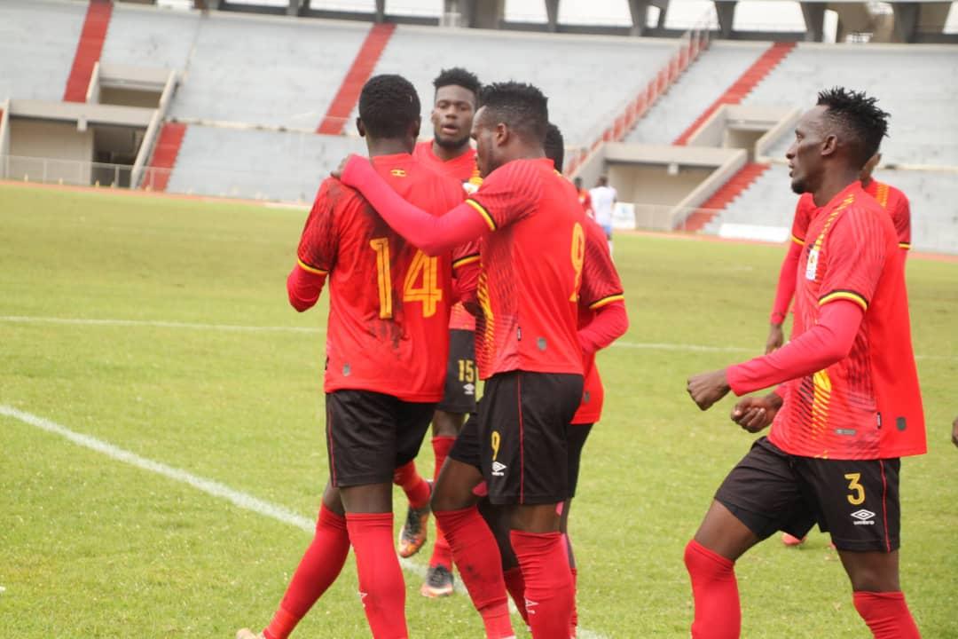 Kobs players celebrate on Monday at the Bahir Dar International Stadium. (PHOTO/FUFA)