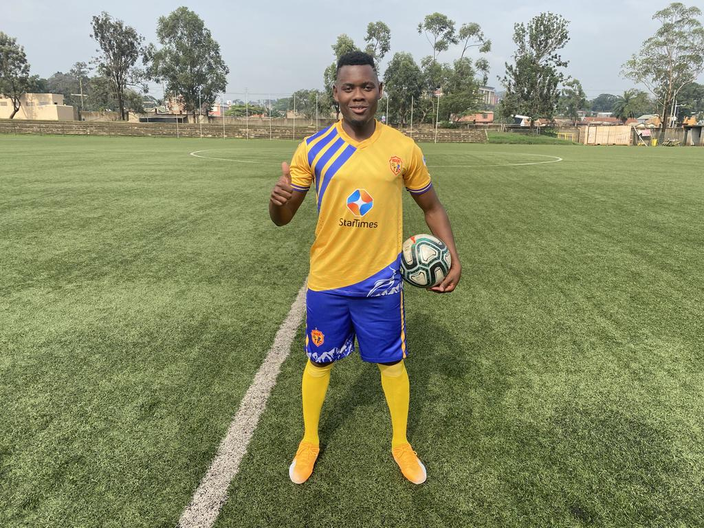 Kalanzi featured in just one game for KCCA FC. (PHOTO/Courtesy)