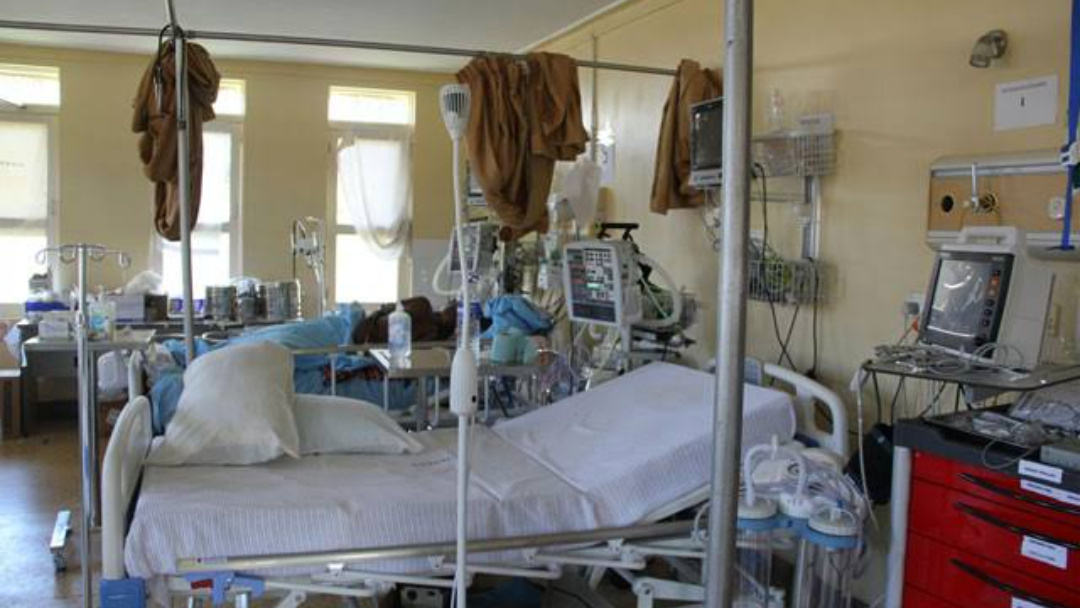 MPs discovered less amounts of oxygen and drugs in Jinja Regional Referral Hospital (PHOTO/Courtesy).