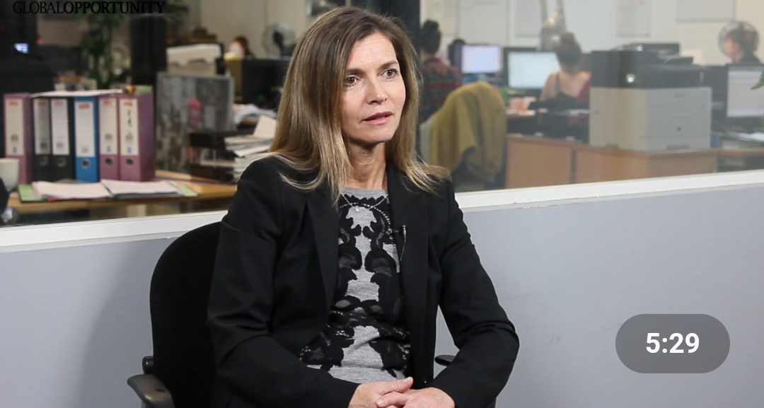 Karen Taylor, CEO of Invest Africa (PHOTO/Video grab).