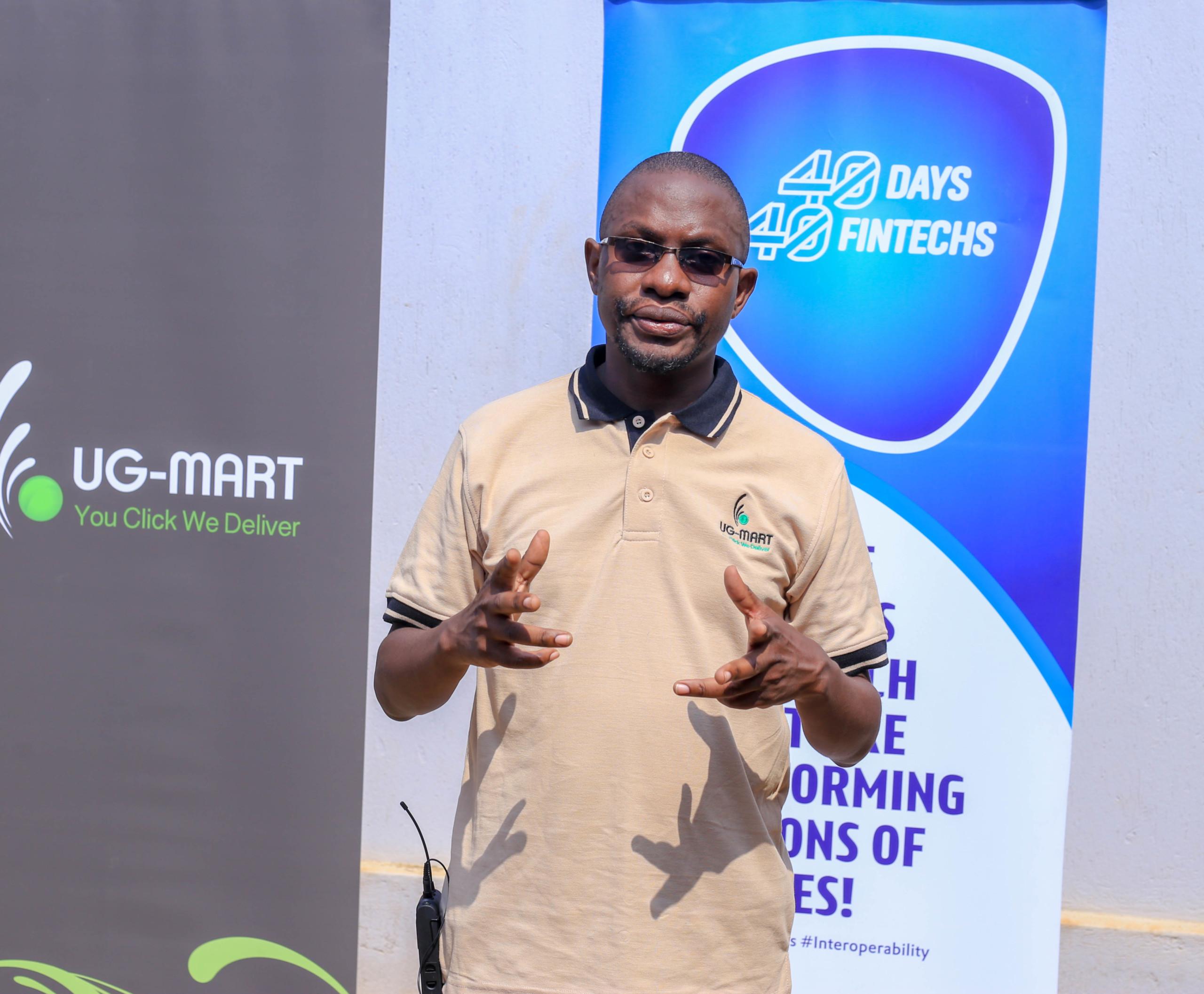 UG-Mart Chief Executive Officer Patrick Kizito (PHOTO /Courtesy)