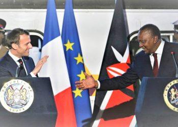 President Uhuru Kenyatta is visiting Paris for a third time. (PHOTO/Internet)