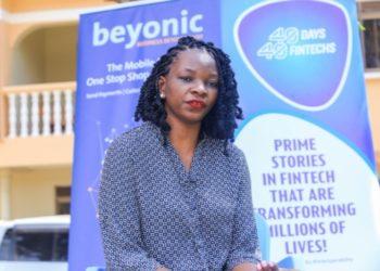 Doreen Lukandwa, the Beyonic/MFS Africa Vice President, Global Enterprises (PHOTO /Courtesy).