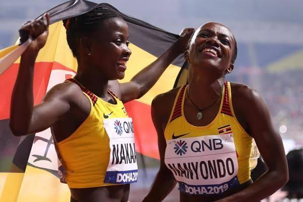 Nakaayi (L) and Nanyondo (R) both disappointed in the heats on Saturdau. (PHOTO/Courtesy)