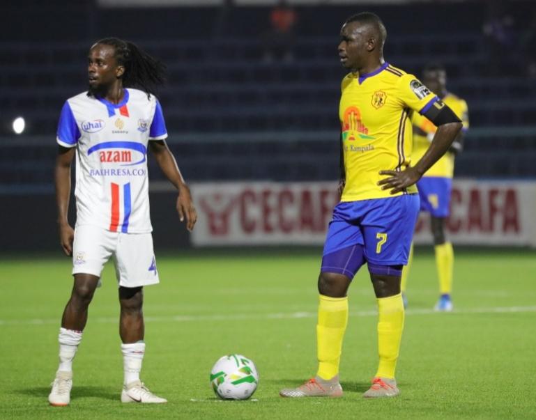 KCCA lost 2-0 to Azam FC on Monday. (PHOTO/Courtesy)