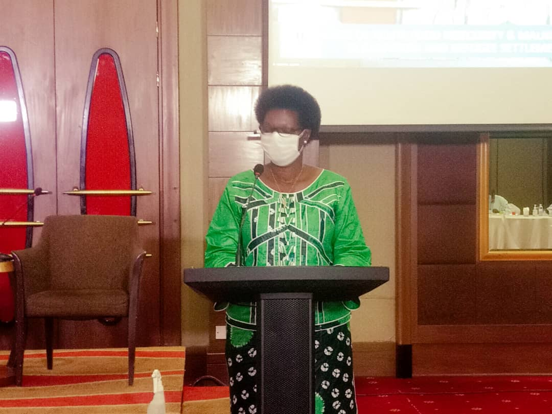 Ms Esther Anyakun,